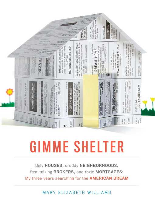 Title details for Gimme Shelter by Mary Elizabeth Williams - Wait list