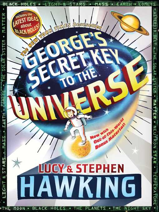 Title details for George's Secret Key to the Universe by Stephen Hawking - Wait list