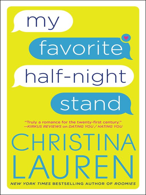 Title details for My Favorite Half-Night Stand by Christina Lauren - Wait list