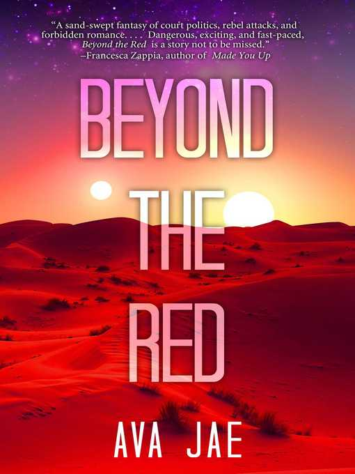 Title details for Beyond the Red by Ava Jae - Wait list