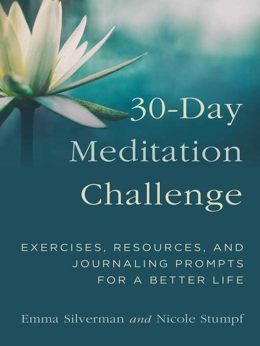Title details for 30-Day Meditation Challenge by Emma Silverman - Available
