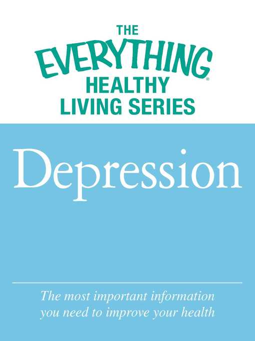 Title details for Depression by Adams Media - Available