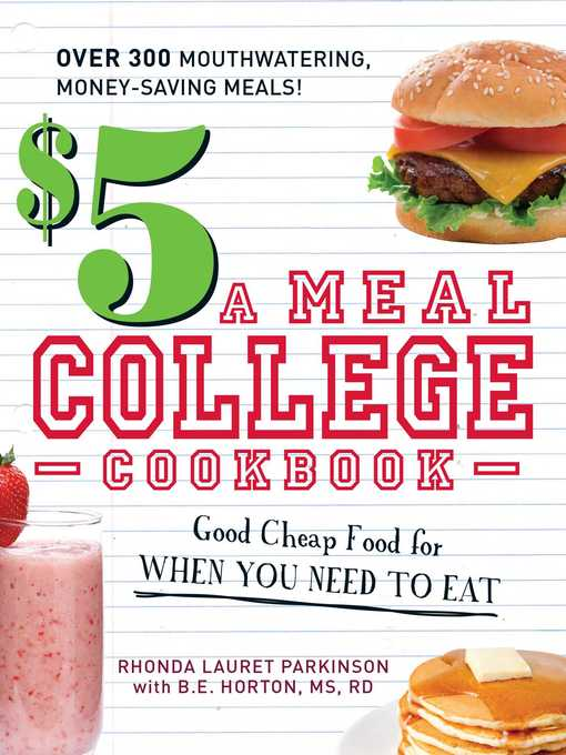 Title details for $5 a Meal College Cookbook by Rhonda Lauret Parkinson - Available