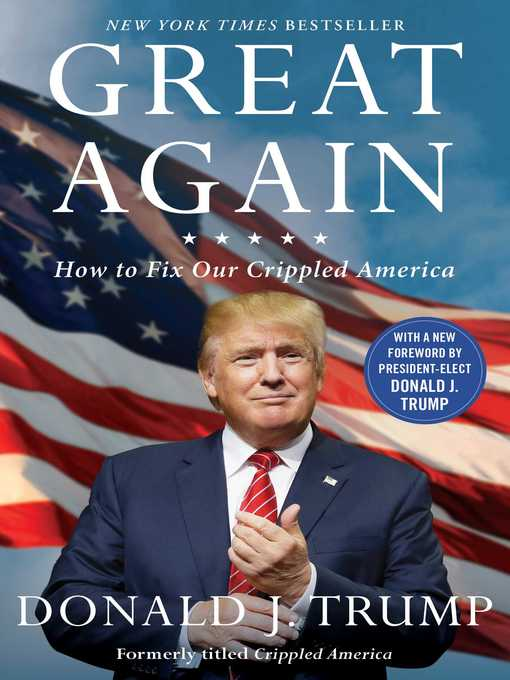 Title details for Great Again by Donald J. Trump - Wait list