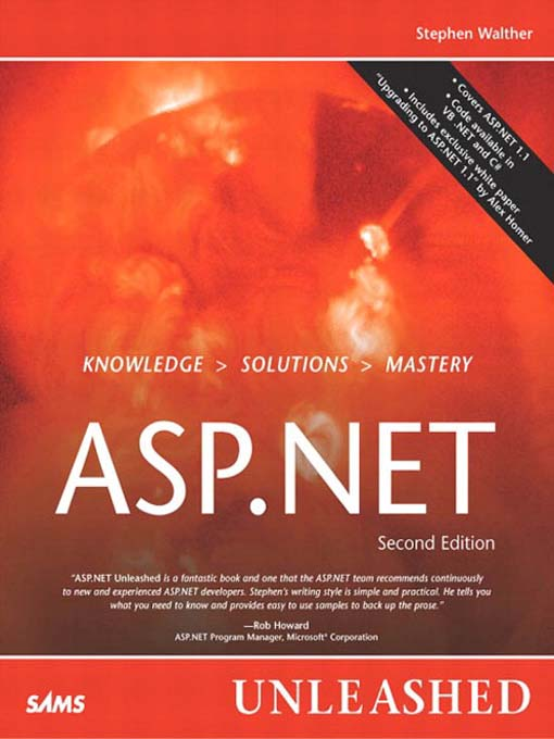 ASP NET Unleashed - Digital Library of Illinois - OverDrive