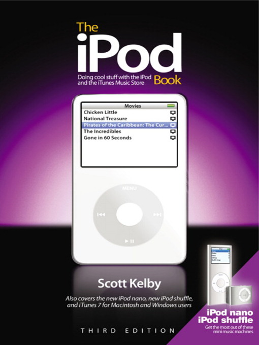 Title details for The iPod Book by Scott Kelby - Wait list