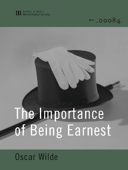 essay on the importance of being earnest