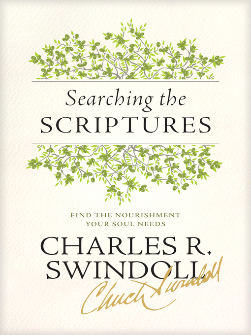 swindoll book review chapters 1 5 Read chuck swindoll's daily devotional -insight for books see also: in the fifth chapter of his first letter we find words that sound like marching orders.