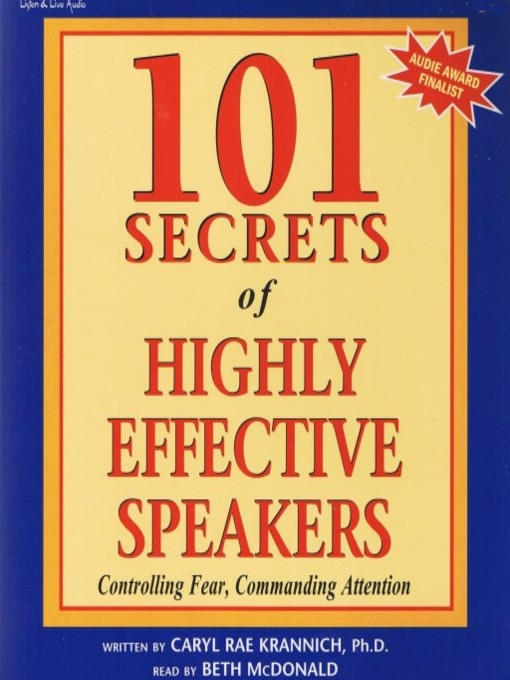 Title details for 101 Secrets of Highly Effective Speakers by Caryl Rae Krannich, Ph.D. - Available