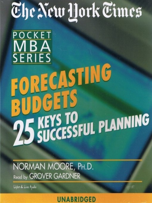Cover image for Forecasting Budgets