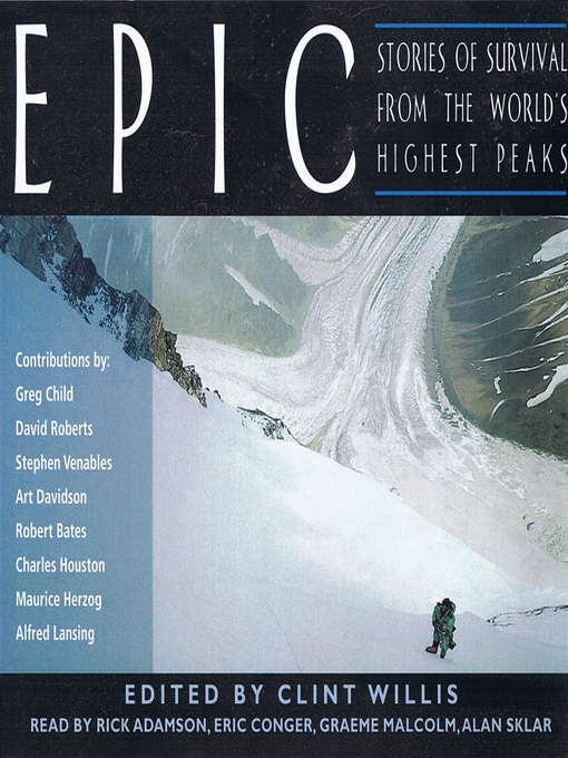 Title details for Epic by Greg Child - Available