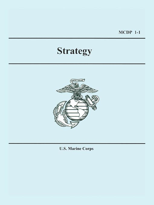 Cover of Marine Corps Strategy (MCDP 1-1)