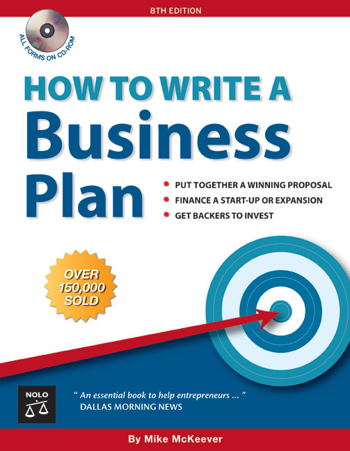 Title details for How to Write a Business Plan by Mike McKeever  - Available
