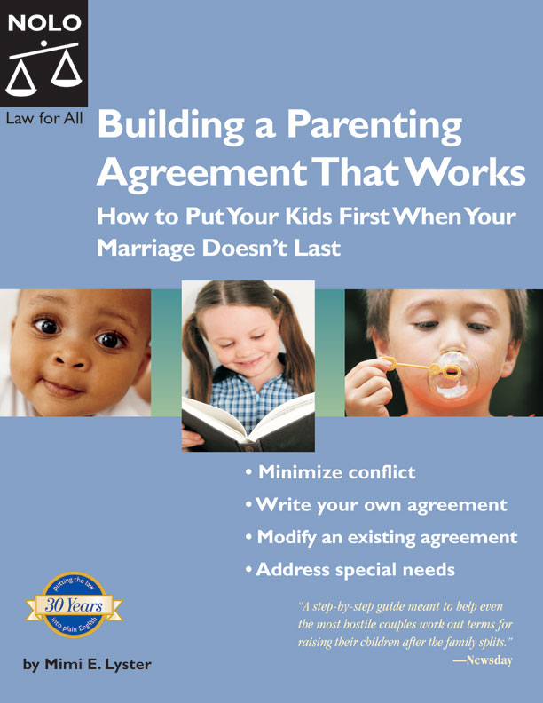 Kids Building A Parenting Agreement That Works National Library