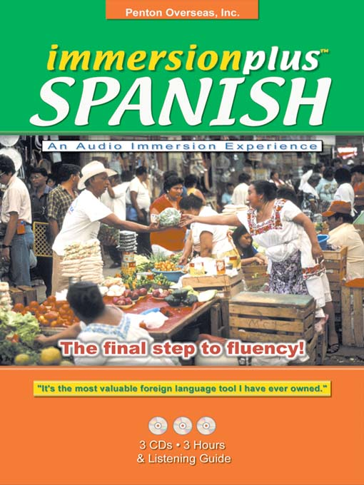 Title details for Immersionplus<sup>TM</sup> Spanish by Penton Overseas, Inc. - Available