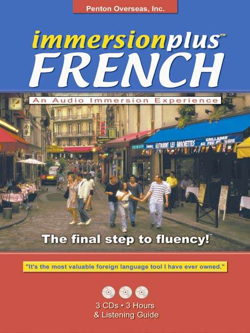 Title details for Immersionplus<sup>TM</sup> French by Penton Overseas, Inc. - Available