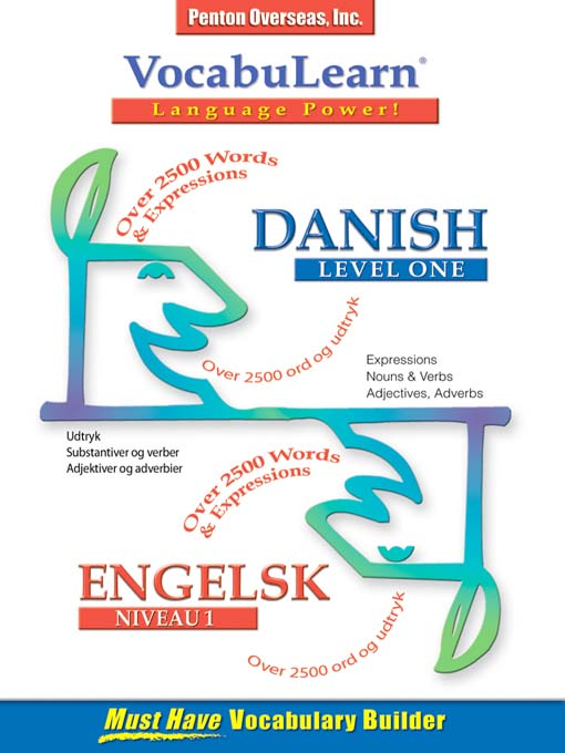 Title details for VocabuLearn® Danish Level One by Penton Overseas, Inc. - Available