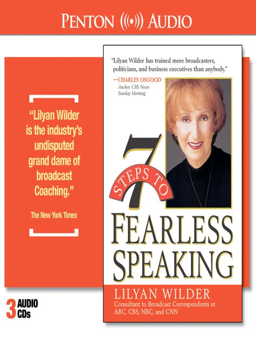 Title details for 7 Steps to Fearless Speaking by Lilyan Wilder - Available