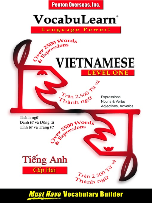 Title details for VocabuLearn® Vietnamese Level One by Penton Overseas, Inc. - Available