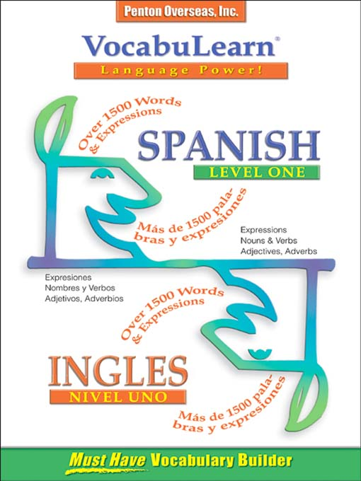 Title details for VocabuLearn® Spanish Level One by Penton Overseas, Inc. - Available