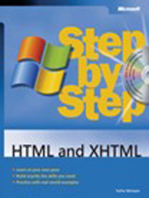 Title details for HTML and XHTML Step by Step by Faithe Wempen - Available