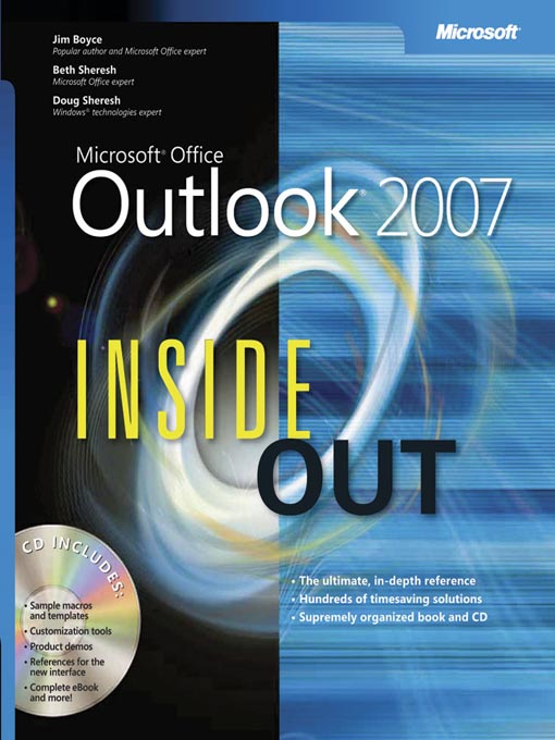 Cover of Microsoft® Office Outlook® 2007 Inside Out