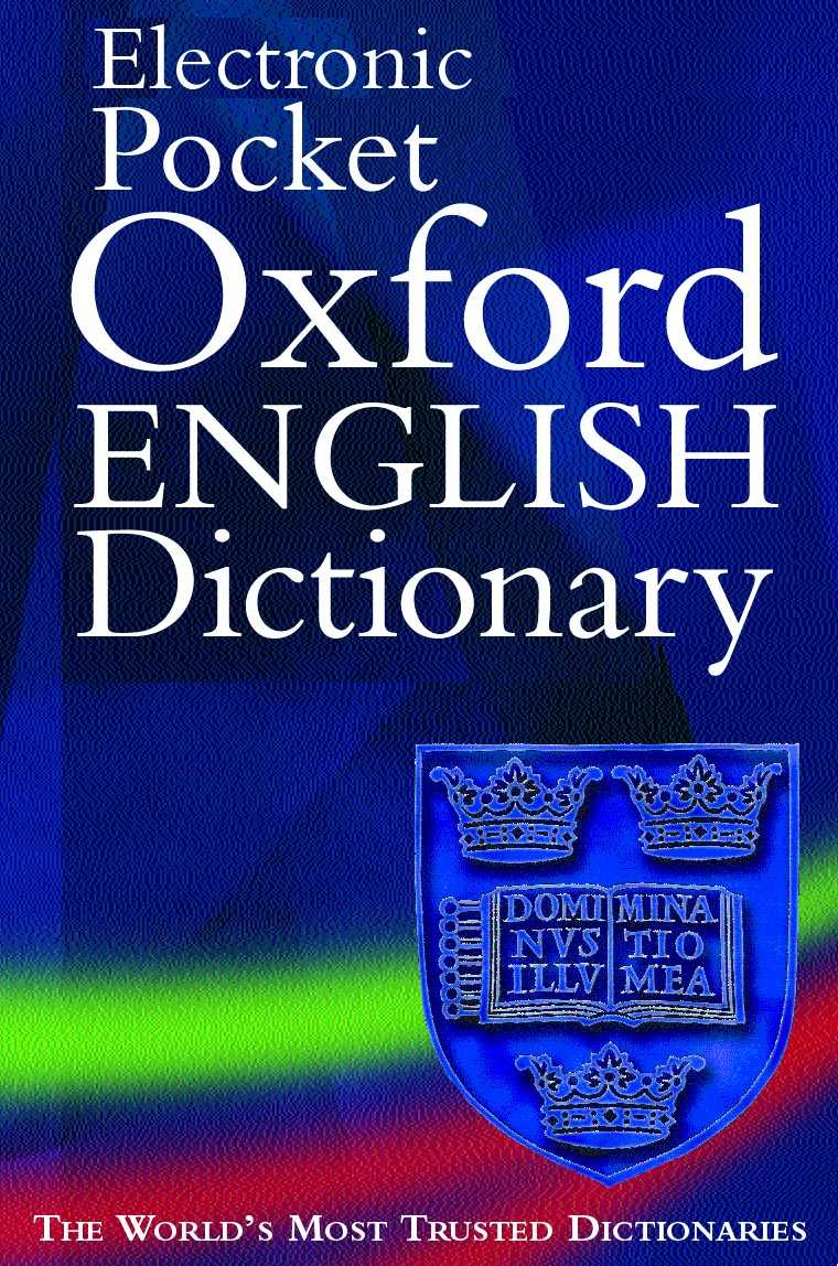 Title details for Electronic Pocket Oxford English Dictionary by Oxford University Press - Wait list