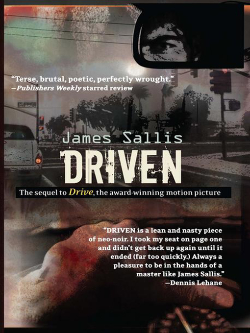 Title details for Driven by James Sallis - Available