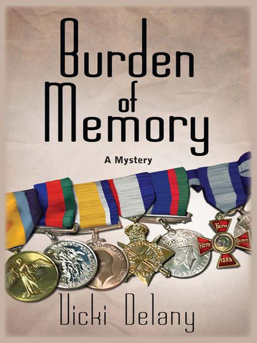 Cover of Burden of Memory