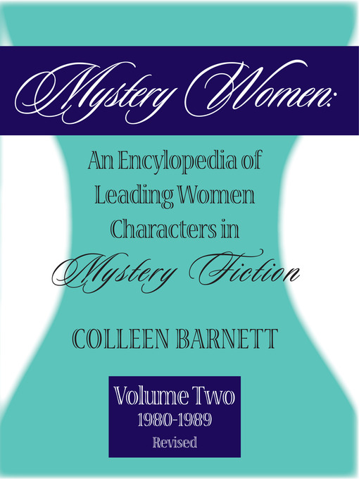 Title details for Mystery Women, Volume Two (Revised) by Colleen Barnett - Available