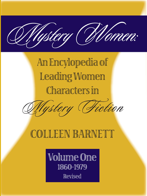 Title details for Mystery Women, Volume One (Revised) by Colleen Barnett - Available