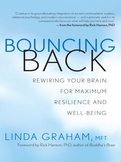 Title details for Bouncing Back by Linda Graham, Mft - Wait list