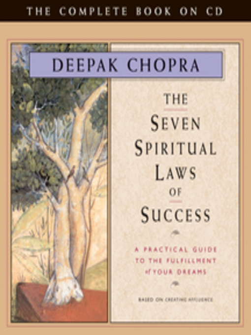 Title details for Seven Spiritual Laws of Success by Deepak Chopra - Wait list