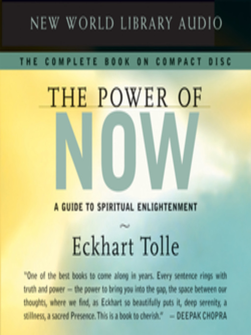 Cover of The Power of Now
