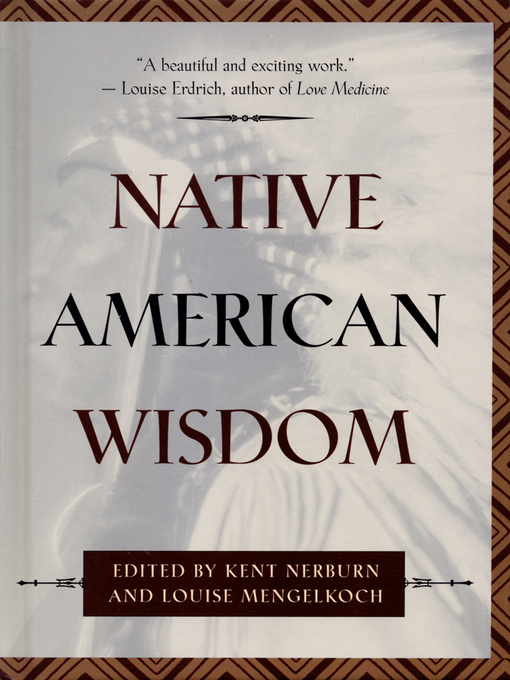 Cover of Native American Wisdom
