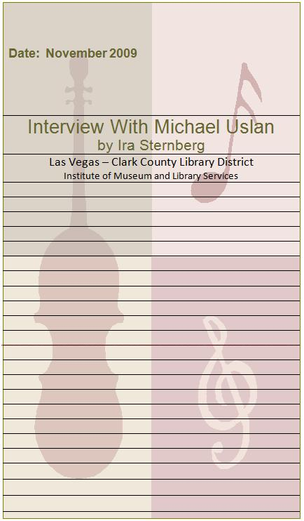 Title details for Interview with Michael Uslan  by Las Vegas - Clark County Library District - Available