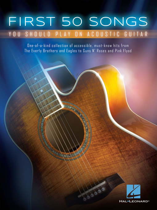 Title details for First 50 Songs You Should Play on Acoustic Guitar by Hal Leonard Corp. - Available