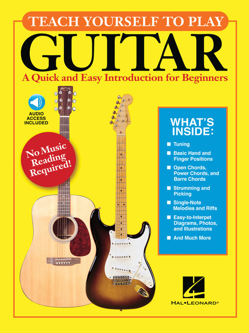 Title details for Teach Yourself to Play Guitar by Hal Leonard Corp. - Available