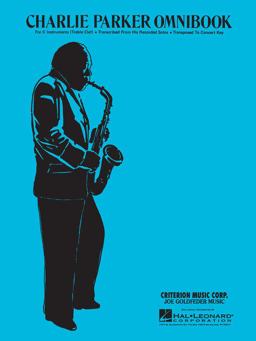 Title details for Charlie Parker--Omnibook by Charlie Parker - Available