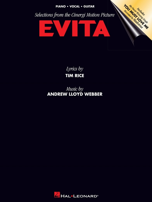 Title details for Evita (Songbook) by Andrew Lloyd Webber - Available