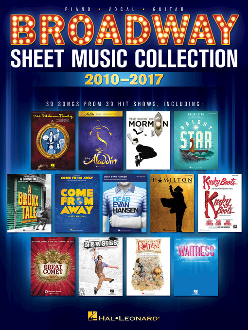 Title details for Broadway Sheet Music Collection by Hal Leonard Corp. - Wait list