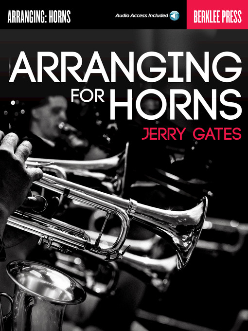 Title details for Arranging for Horns by Jerry Gates - Available