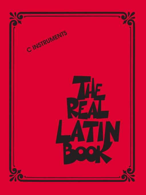 Title details for The Real Latin Book by Hal Leonard Corp. - Available