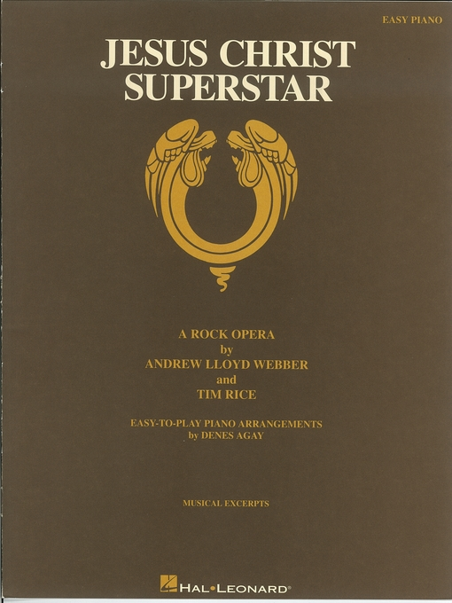 Title details for Jesus Christ Superstar (Songbook) by Andrew Lloyd Webber - Available