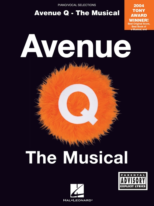 Title details for Avenue Q--The Musical (Songbook) by Robert Lopez - Available