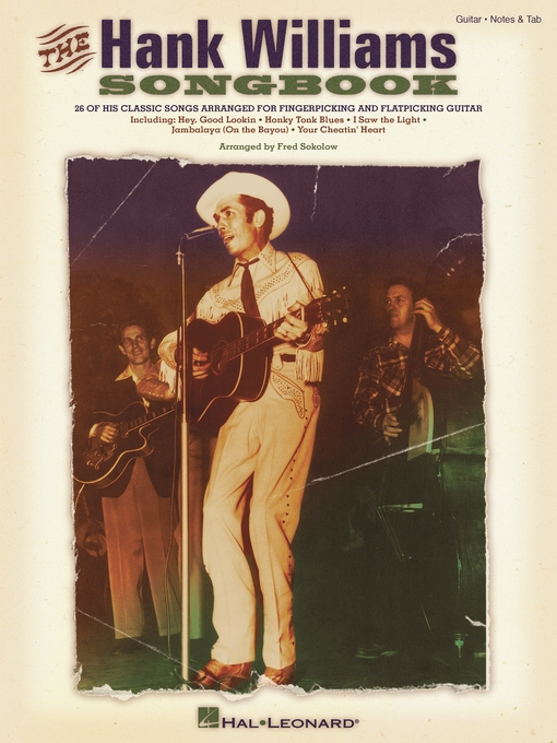 Title details for The Hank Williams Songbook by Hank Williams - Available