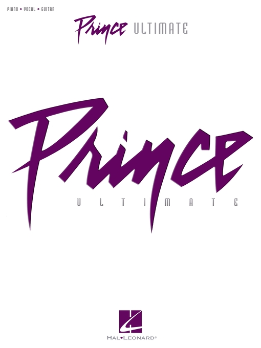 Title details for Prince--Ultimate (Songbook) by Prince - Available