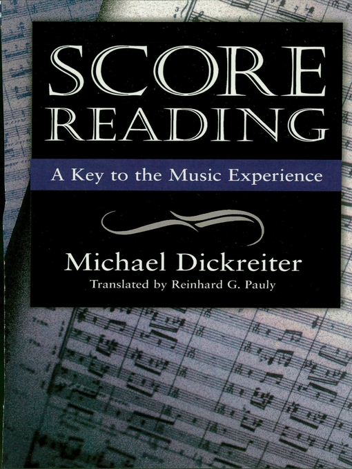 Title details for Score Reading by Michael Dickreiter - Available