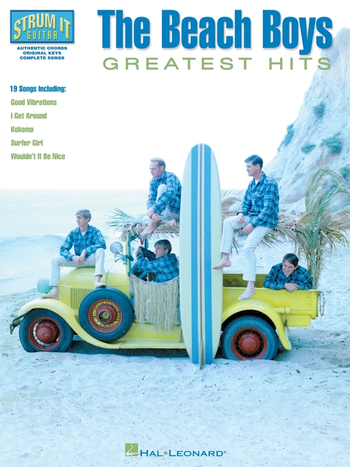 Title details for The Beach Boys--Greatest Hits (Songbook) by The Beach Boys - Available