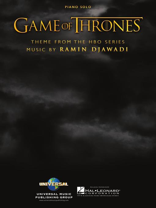 Title details for Game of Thrones Sheet Music by Ramin Djawadi - Available